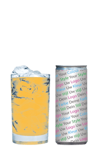 energy drank eigen logo