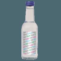 waterfles glas eigen design logos
