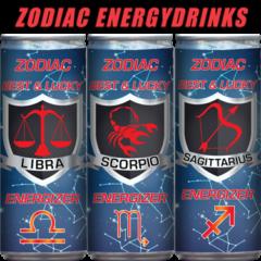 ZODIAC sterrenbeeld energydrinks